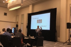 Presenting at the Thomson Reuters Partner Summit in Nashville - teaching other CPA firms how to be business advisors.