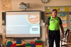 Teaching the young CPA's of the future at Forest Lakes Elementary for the Great American Teach-In